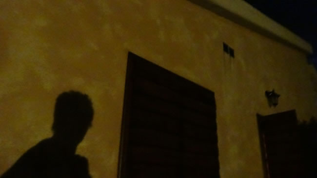 Me in the moonlight in Saturnia after one too many wines taking a picture