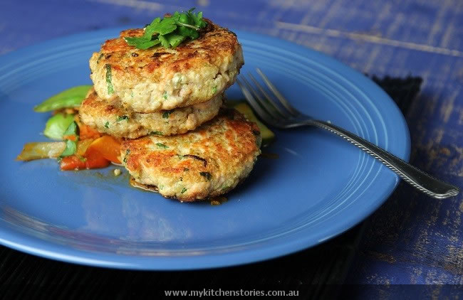 Salmon Quinoa cakes gluten free