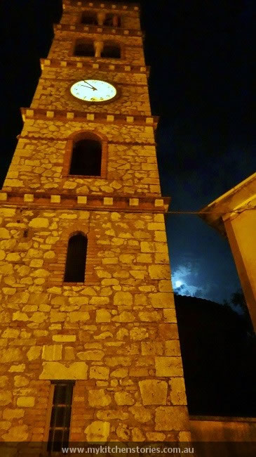saturnia bell tower