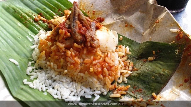 nasi lemak for breakfast
