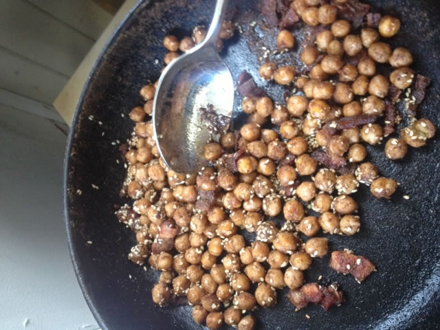 Toasted Chcikpeas