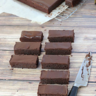 Stir together brownies