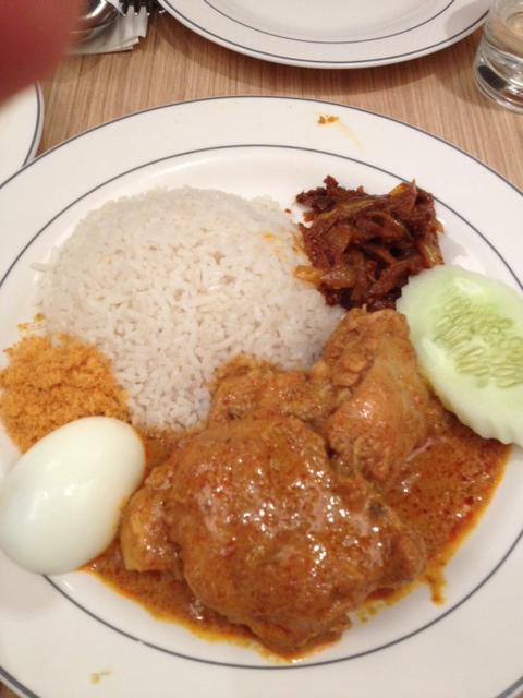 Nasi Lemak in malaysia