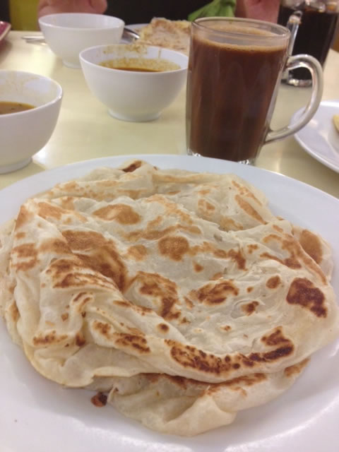 Roti chanai. What would the world be without this fluffy delicious breakfast treat?