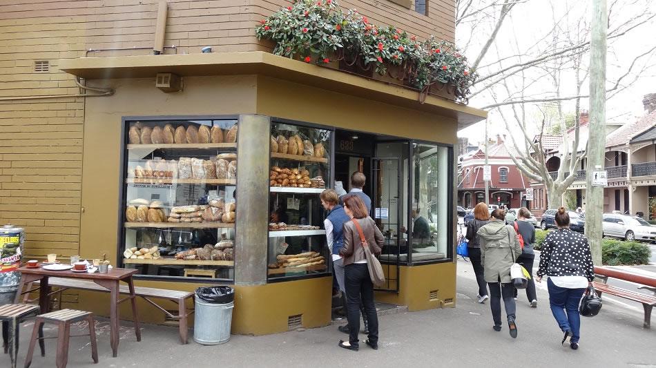 Bourke Street bakery , Surry Hills