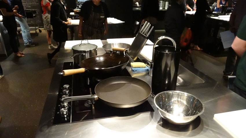 The stove and equipment