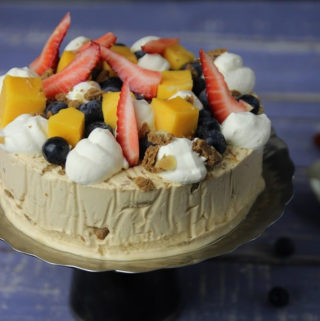 Caramel Icecream cake