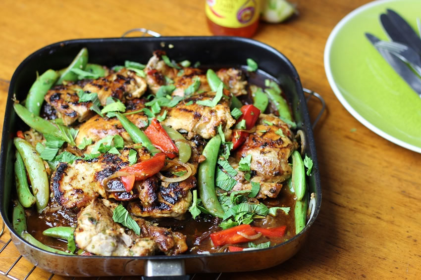 Quick chilli and lime chicken