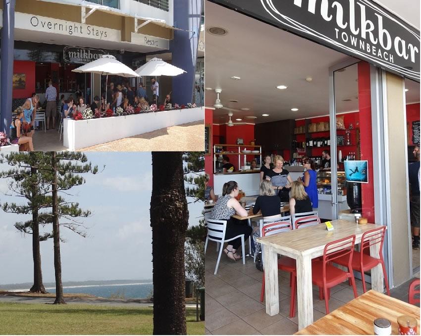 Milkbar town beach