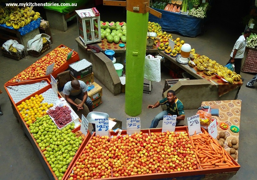 Cooking in Suva, Markets