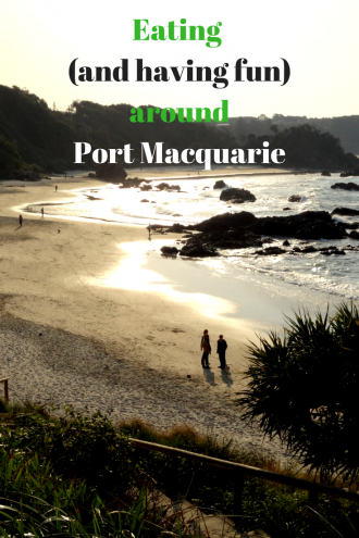 Eating around Port Macquarie