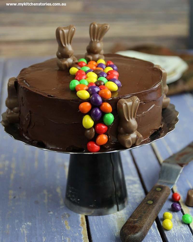 Refrigerator chocolate cake