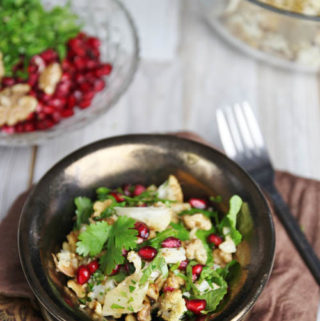 Roast Cauliflower Salad