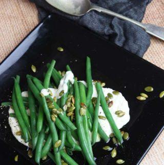 Green Beans Parmesan