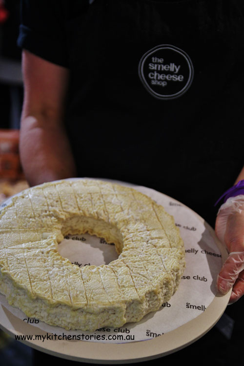 Holy Goat cheese from the Smelly Cheese Store Adelaide Central Markets