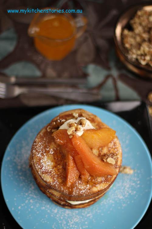Orange Pancake Cake