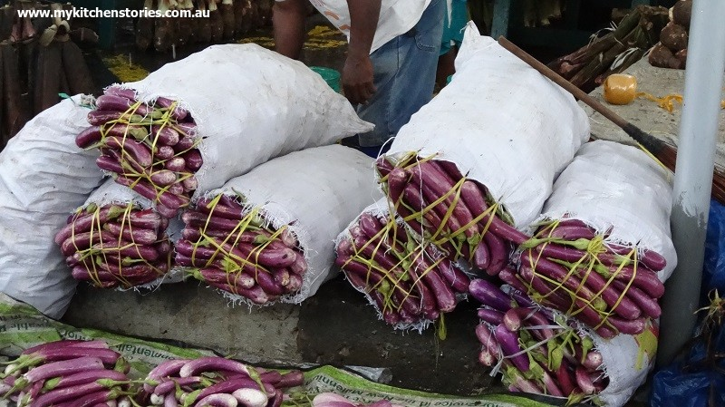 bag of eggplants
