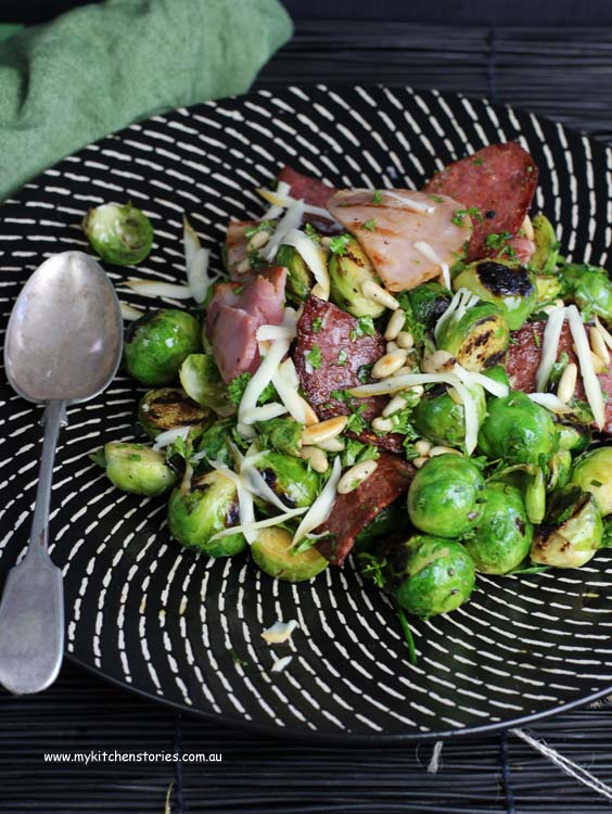 BBQ'd Sprouts