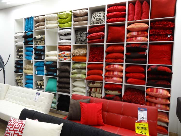 The cushion wall