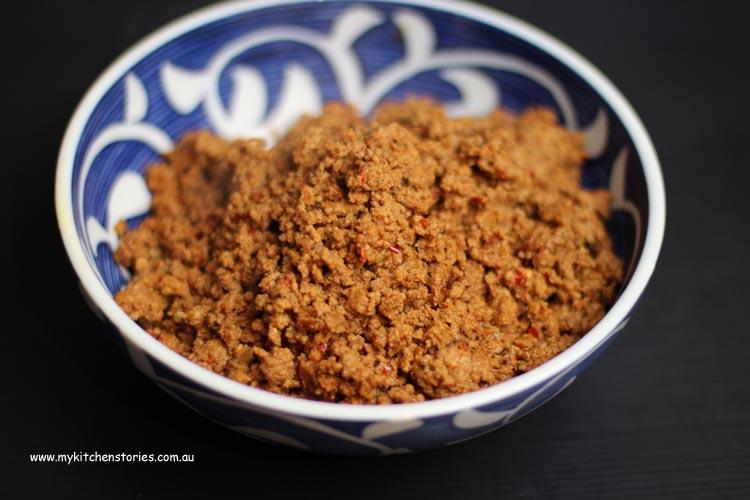 chorizo cooked