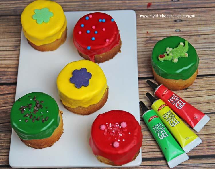 Rainbow Cakes baby size