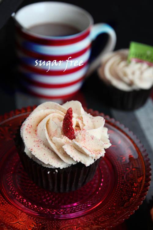 Chocolate-Natvia-cupcakes