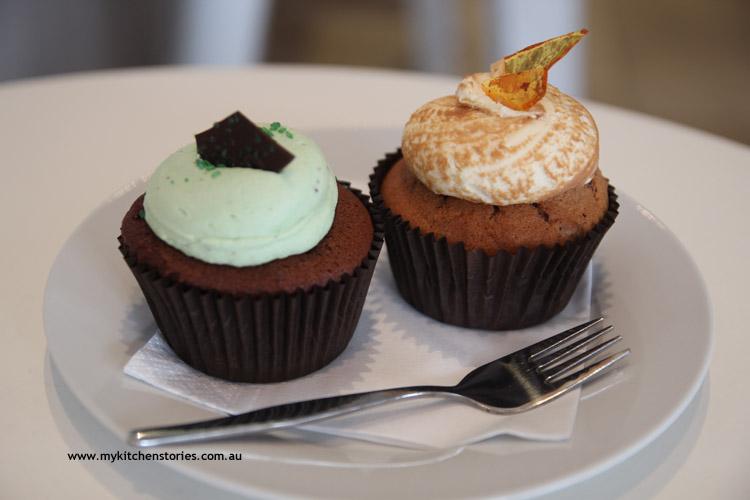 Mint-chocolate-hazelnut-cupcake