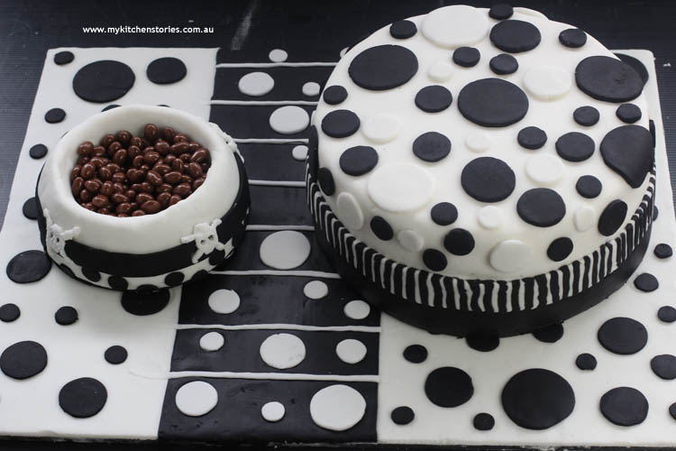 Spotted cake