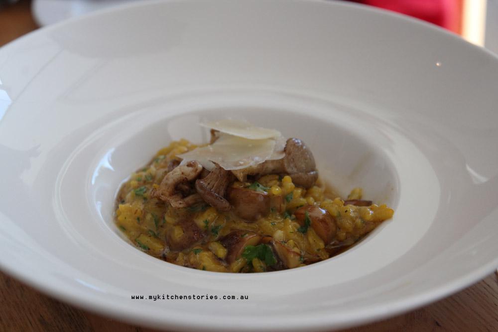 Chestnut Mushroom Risotto