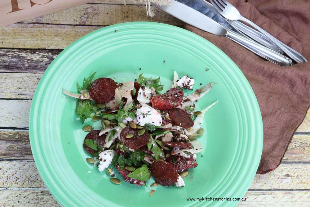 Fennel-Blood Orange-Crisp-Peperilli -Salad