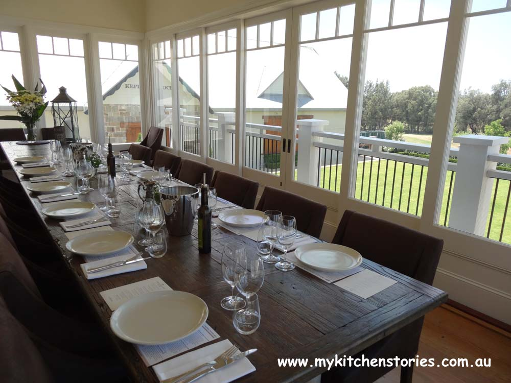 Keith Tulloch Wines private dining