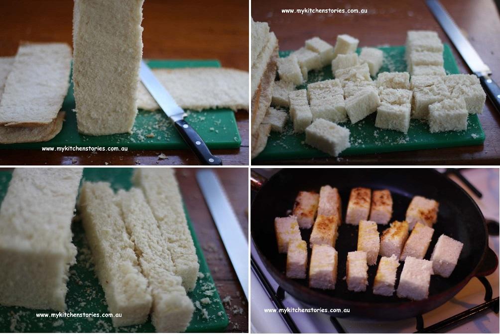 Making Smoked Salmon Sushi Toasts, My Kitchen Stories