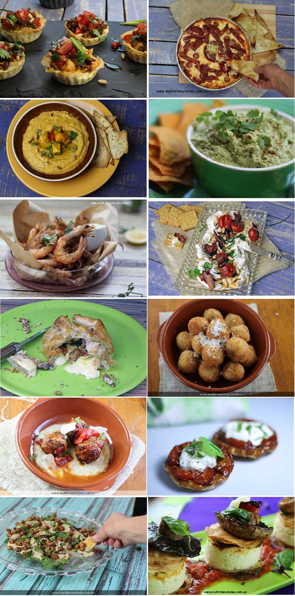 Potato Croquettes and party food pictures