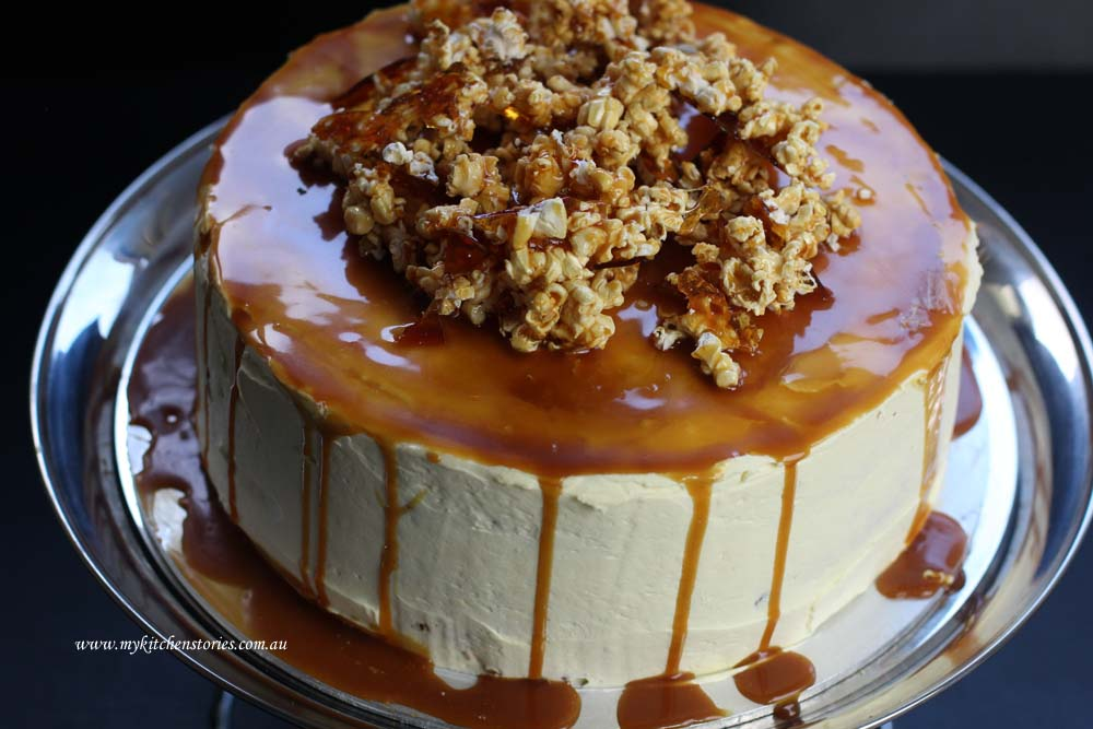 Carrot and Caramel cake