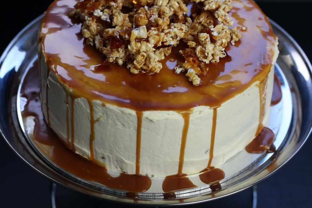 Carrot and Caramel gluten free cake