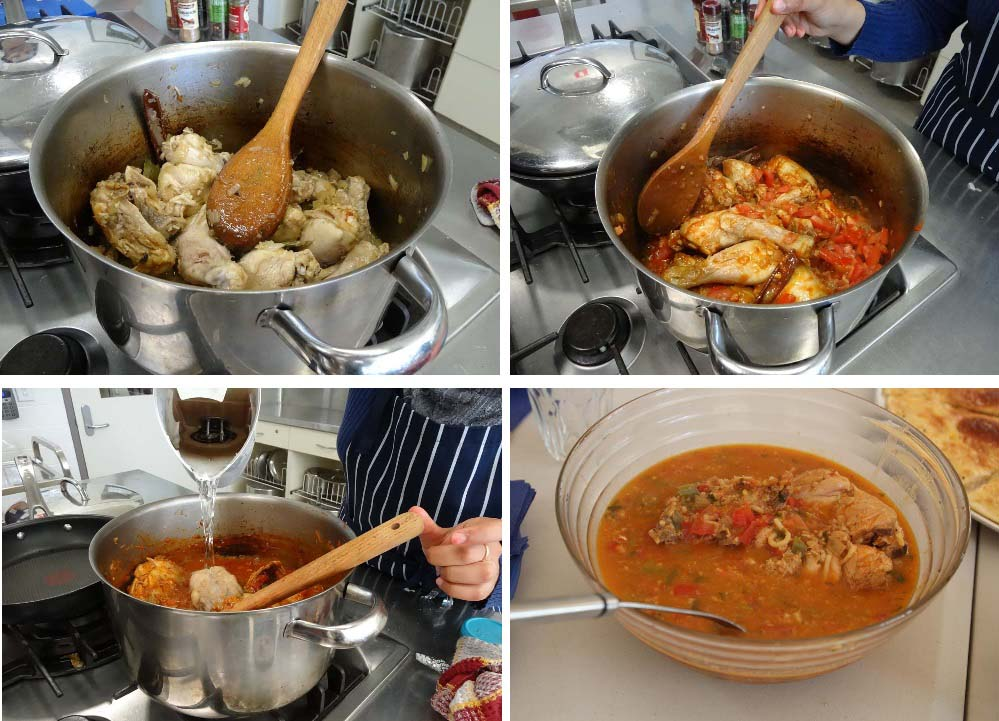 Chicken and Oat soup