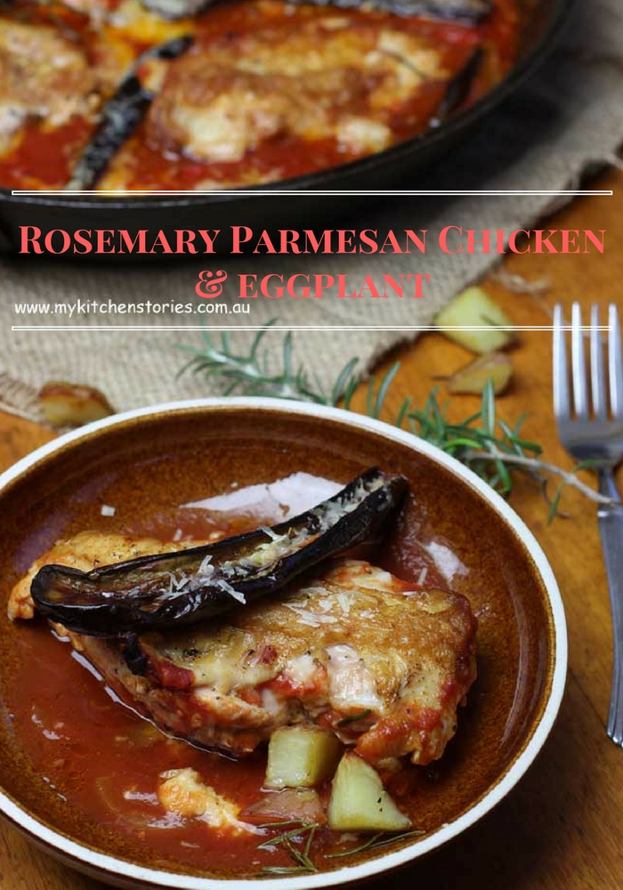 Rosemary Parmesan Chicken