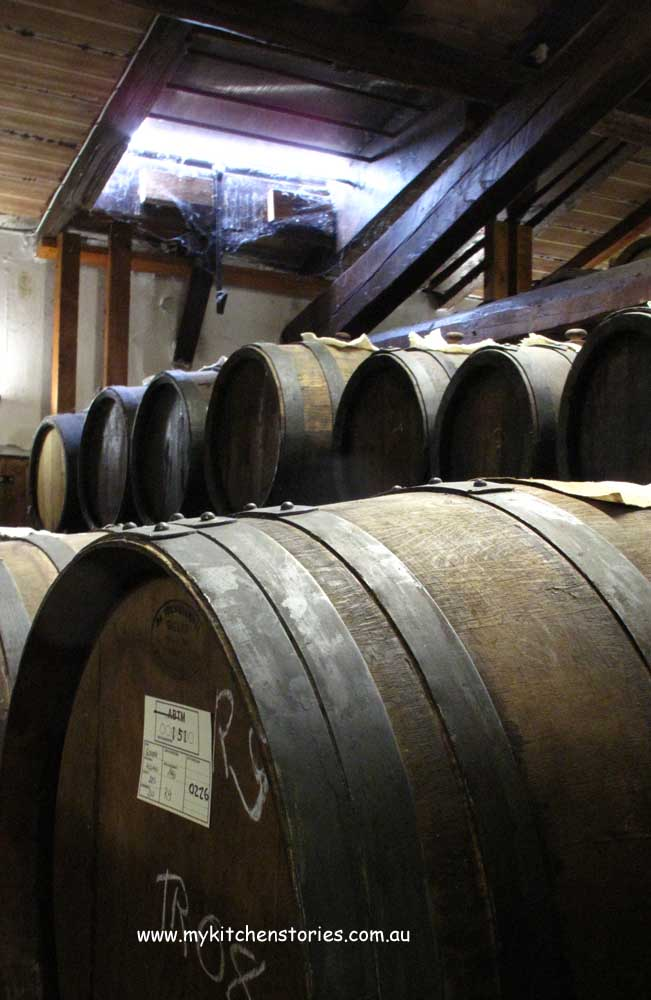 barrels with Balsamic inside
