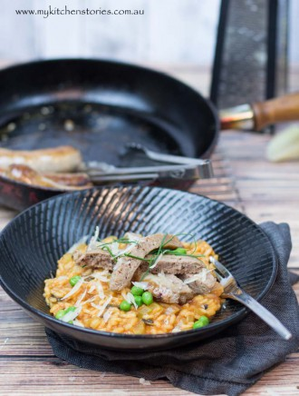 sausage and Tomato Risotto