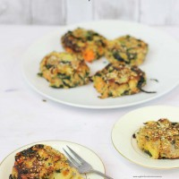 Bubble and Squeak with vegetables