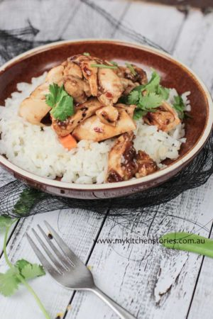 Lemon Ginger Chicken