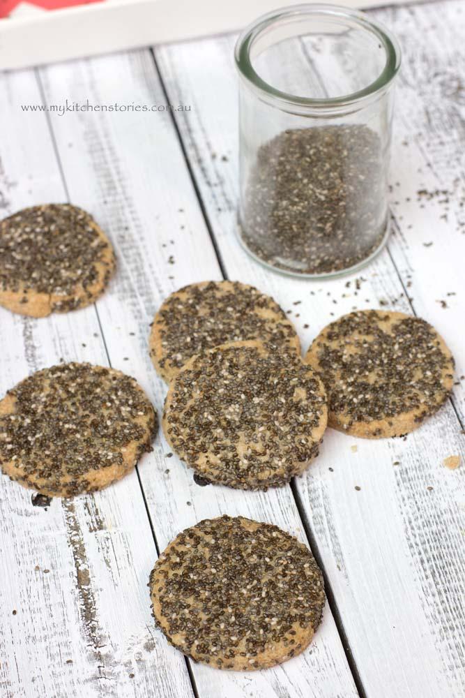 Chia cookies 1