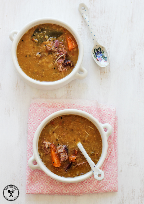 Red-Lentil-Coconut-and-Ham-Soup-3