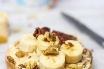 Banana, Date bagel
