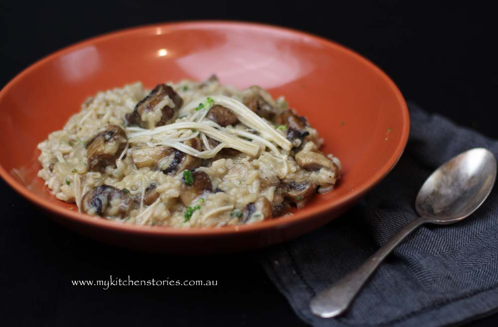 Mushroom-risotto-My-Kitchen-Stories 1