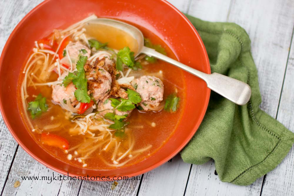 Salmon in spicy broth -My Kitchen Stories