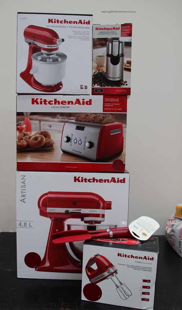 Kitchen Aid prizes