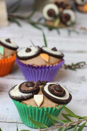 Easy Owl Cupcakes