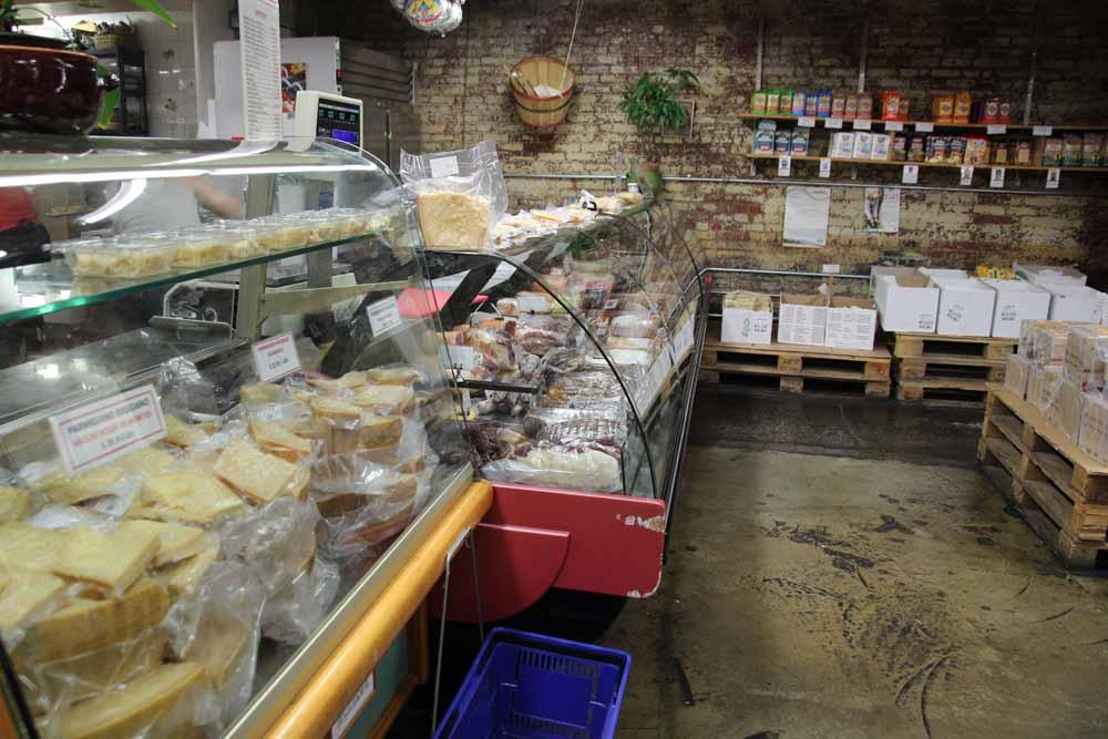 Buon Italia cheese counter