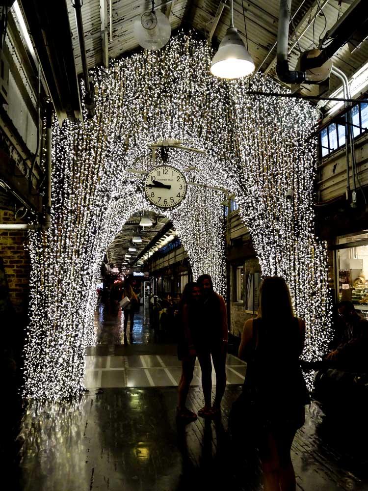 The Chelsea Market entrance